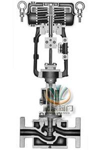 hps高压单座调节阀 (解剖图)图片