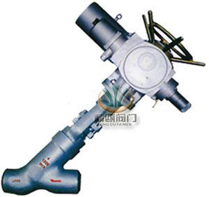 电动直流对焊截止阀,电动焊接截止阀,电动高压截止阀